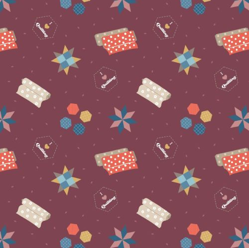 <!--4411-->Lewis & Irene - Small Things Crafts - Quilting on Wine, per fat