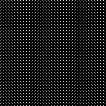 Makower UK - Polka Dot on Black 830/X, per fat quarter
