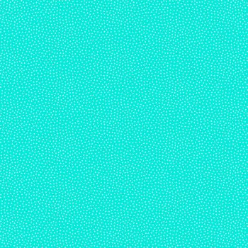 Makower UK - Freckle Dot on Turquoise, per fat quarter