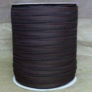 Continuous Zip Size 3 - Black, per metre