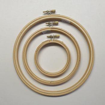 """7"""" Embroidery hoops"""