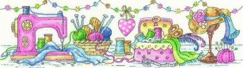 Heritage Crafts Cross Stitch Kit by Karen Carter - Sewing Room