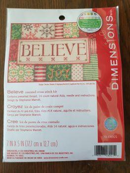 Dimensions Cross Stitch - Believe