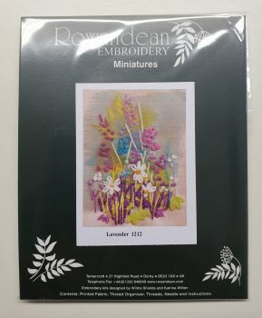 Rowandean Embroidery Kit - Lavender 1212