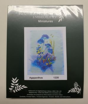 Rowandean Embroidery Kit - Agapanthus 1220