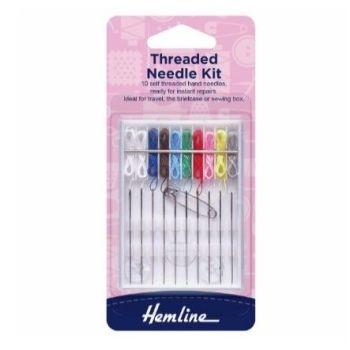 Hemline Threaded Needle Kit