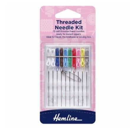 <!--   008 -->Hemline Threaded Needle Kit