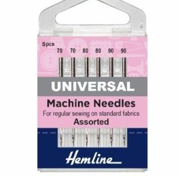 Hemline Sewing Machine Needles - Universal - Assorted