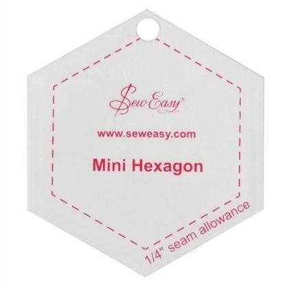 <!--   042-->Sew Easy - Mini Hexagon Template