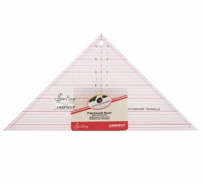<!--   052-->Sew Easy - Acrylic Patchwork/Quilting Ruler - 60 Degree Trian