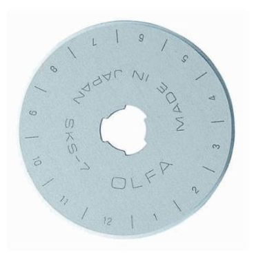 OLFA - Replacement Rotary Cutter Blades - Single Pack - 45mm