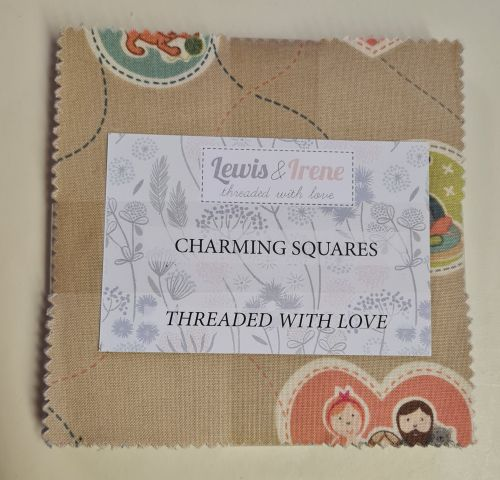 <!--4300c-->Lewis & Irene - Threaded with Love - Charming Squares