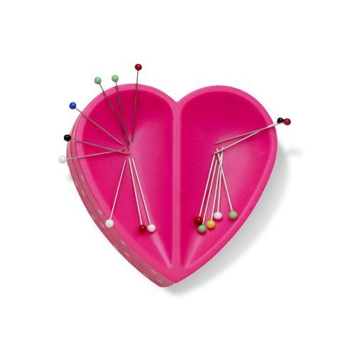 <!--   038a -->Prym Love - Magnetic Heart Pin Cushion