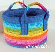 Love From Beth - Rainbow Basket Pattern