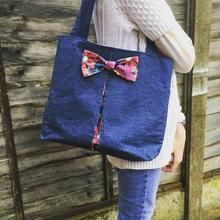 Love From Beth - Easy Bow Bag Pattern