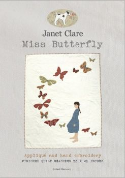 Janet Clare - Miss Butterfly Quilt Pattern