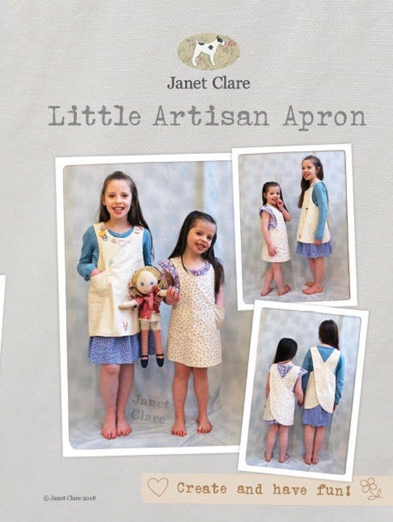 <!-- 755 -->Janet Clare - Little Artisan Apron Pattern