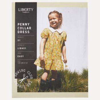 Liberty Fabrics - Penny Collar Dress Pattern