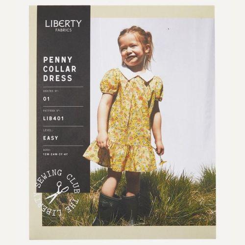 <!-- 761 -->Liberty Fabrics - Penny Collar Dress Pattern