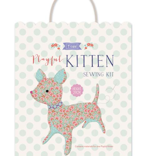 <!-- 764 -->Tilda - Payful Kitten Sewing Kit