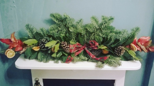 6 Foot Natural Garland