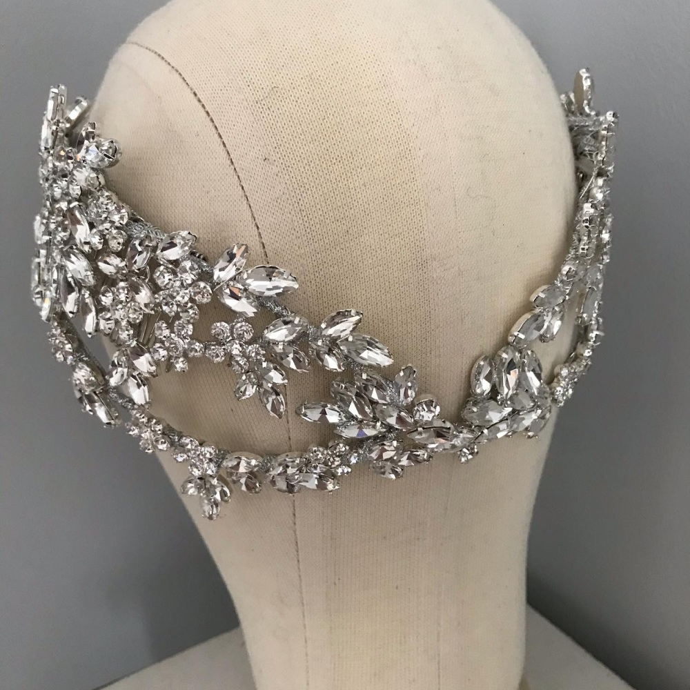 Empress petite Bridal Crown.