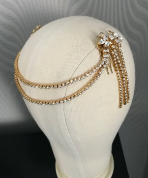 Mary forehead chain.