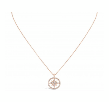 Cubic Zirconia set star necklace.
