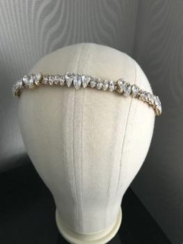 Gold Preciosa Alice Headband.