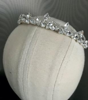 Crystal regal style tiara.