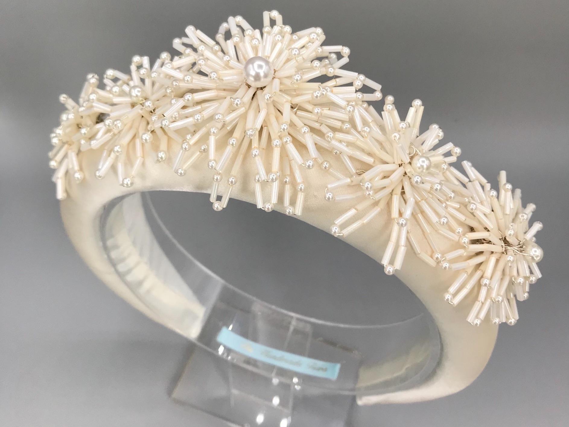 Padded Bridal Headbands.