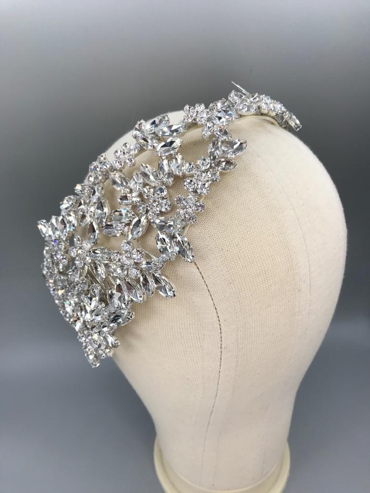 Empress Bridal headpiece.