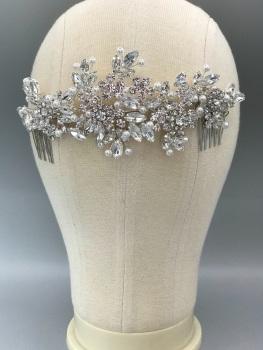 Empress Anne back Comb Crystal.