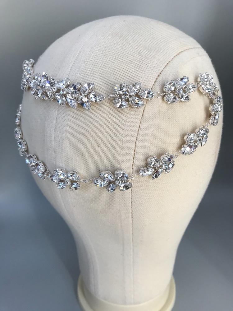 Empress Crystal Hair Chain.
