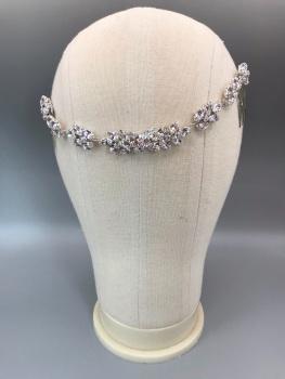 Empress Single Crystal Hair Chain.