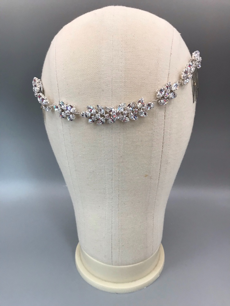 Empress Crystal Hair Chain.