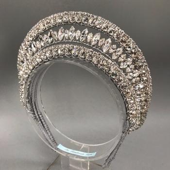 Maxima Art Deco inspired Regal tiara.