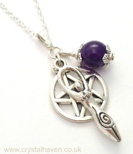 Amethyst Goddess Necklace