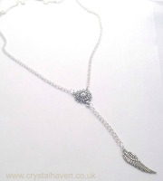 Silver Feather Necklace