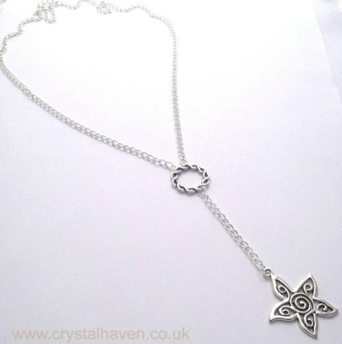 Silver Sol Necklace