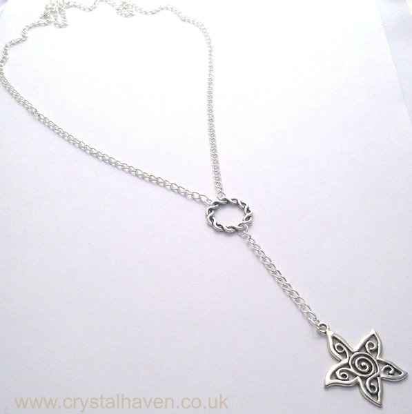 Silver Sol Necklace