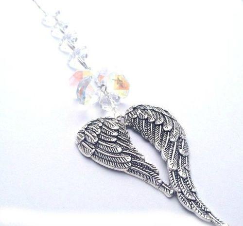 Angel Wings Sun Catcher