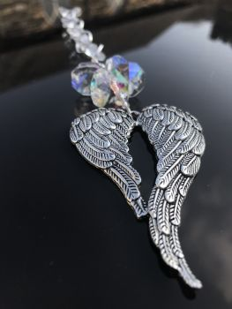 Angel Wings Sun Catcher