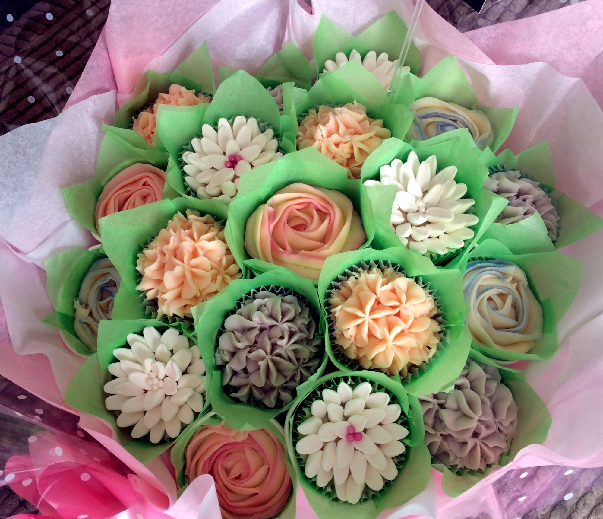 For the sake of cake cupcakes cupcake bouquets in gillingham cupcake bouquet izmirmasajfo