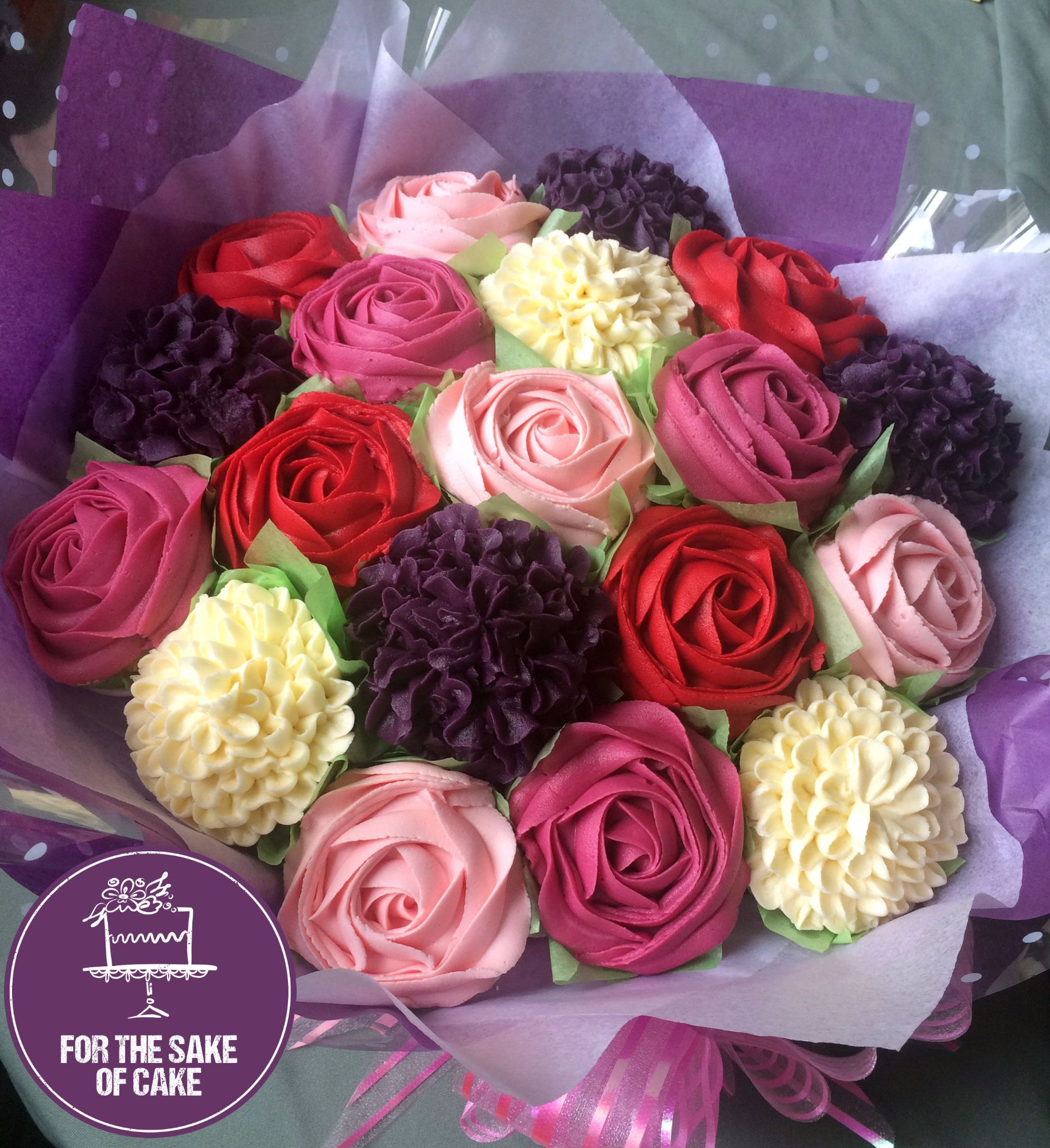 For the sake of cake cupcakes cupcake bouquets in gillingham 19 bouquet izmirmasajfo