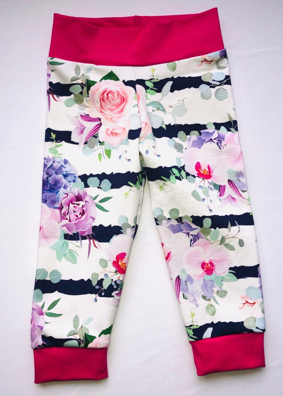 6-12 Months Floral Leggings