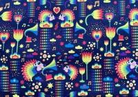 Rainbow Hedgehog Leggings