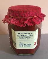 Beetroot and Horseradish Chutney