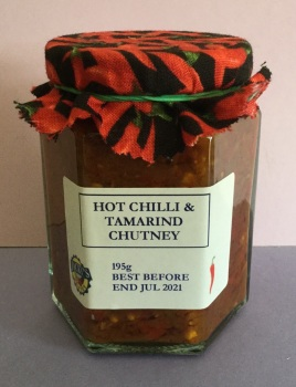 Hot Chilli and Tamarind Chutney