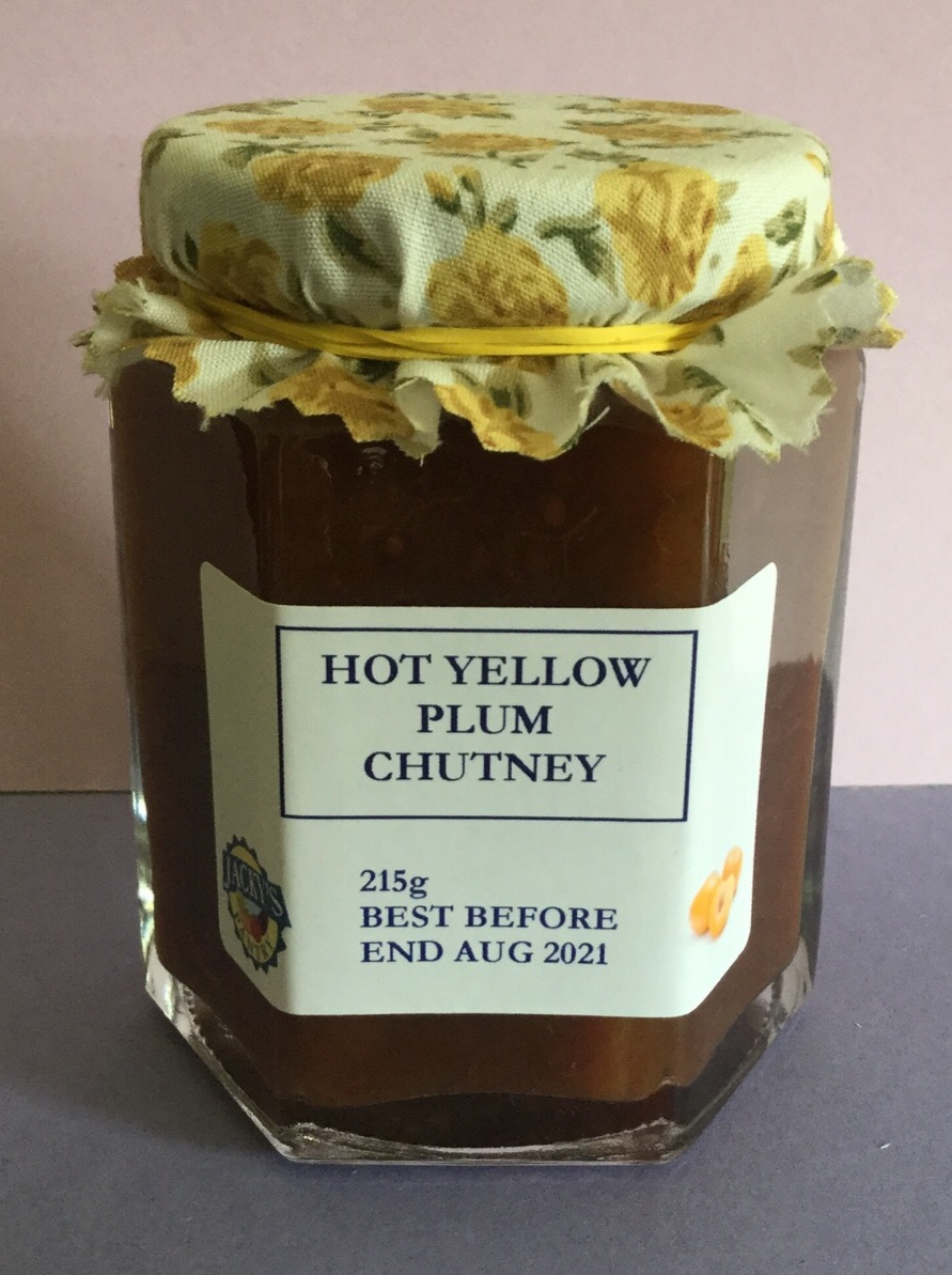 Hot Yellow Plum Chutney